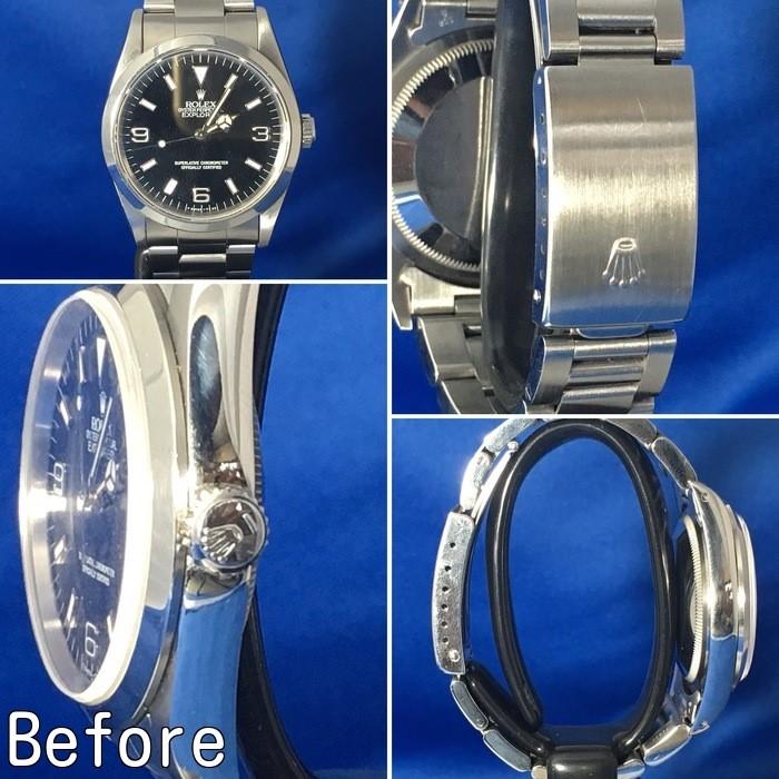 quality design 72117 487f6 ロレックス エクスプローラー1 14270 オーバーホールと ...